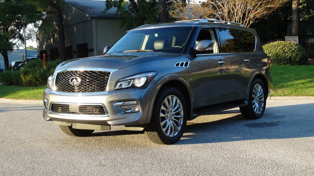 Pre-Owned 2016 INFINITI QX80 Base