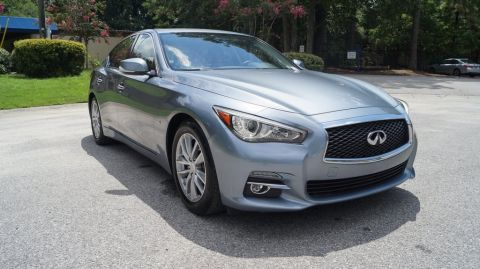 Pre-Owned 2015 INFINITI Q50 Base