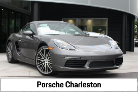 Certified Pre-Owned 2018 Porsche 718 Cayman RWD